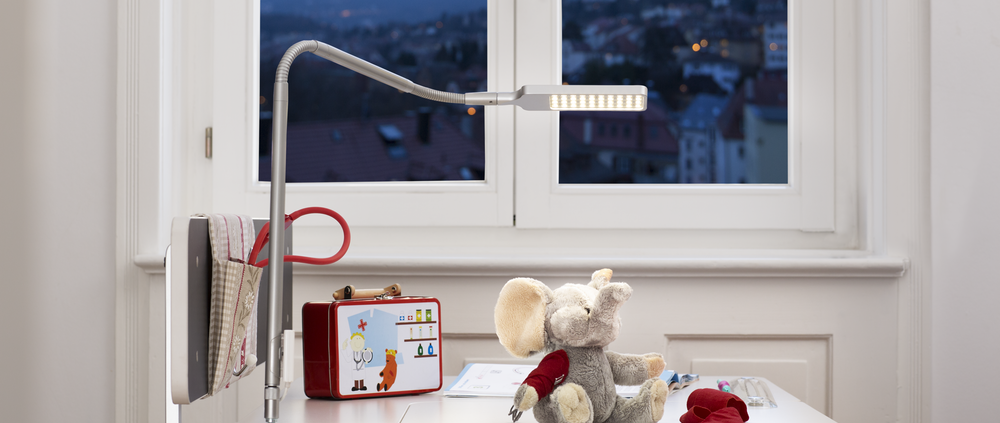 moll flexlight children desk lamp LED light