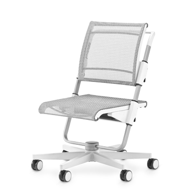 Moll Scooter White Children's Chair