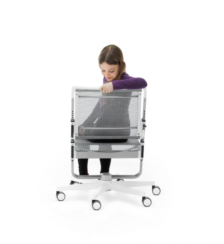 Moll Scooter children chair backrest height adjustment