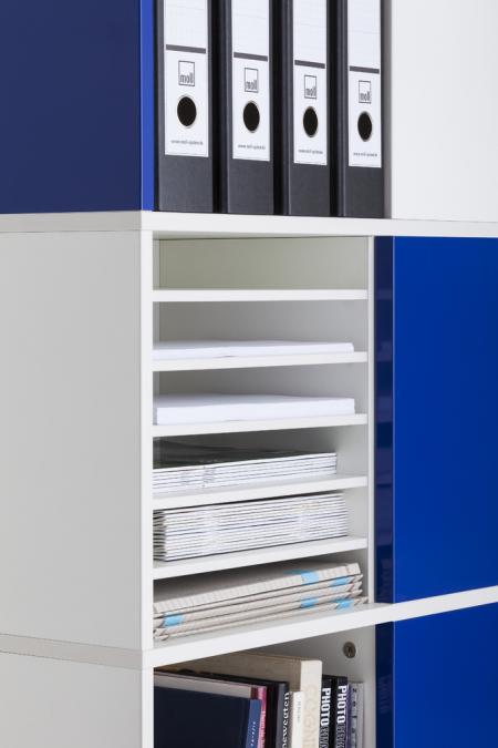 Squarefile Shelves - Set of 5