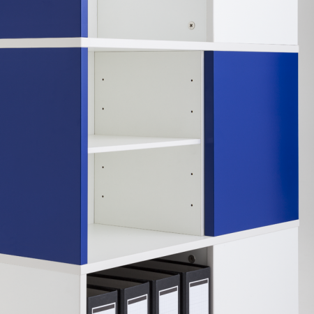 Squarefile Compartment Shelf
