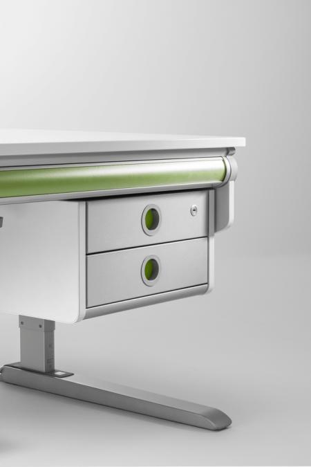 Moll winner twin box children desk storage lockable drawer