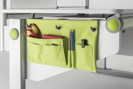 moll utensilo beside pouch children desk